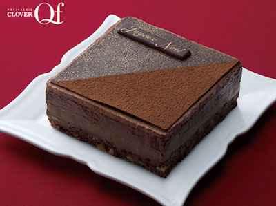 34《宅配商品》五層仕立てのチョコレートケーキ