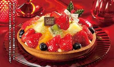 2苺のフルーツタルト〈香るジュレ付き〉