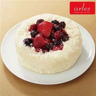 45 5種のベリー チーズケーキ