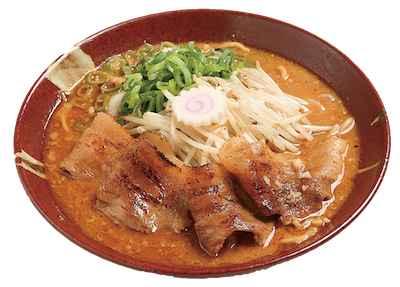 4濃厚味噌「炎・炙」肉盛そば ~加賀百年蔵出し2015バージョン~