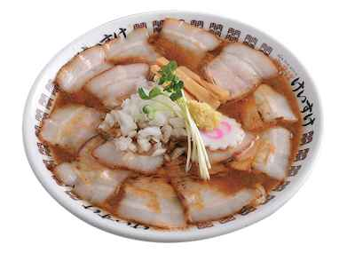 8プレミアム 黒豚肉そば 札幌味噌スタイル