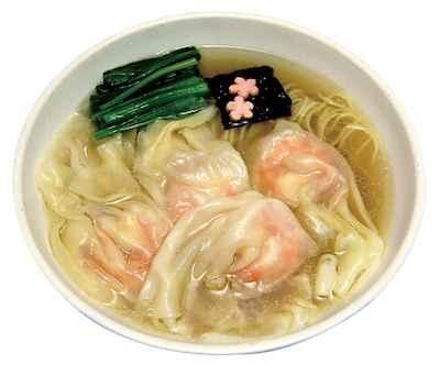 20海老まるごとワンタン麺