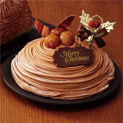 17イタリア栗のクリスマスモンブラン