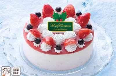 27【アイスケーキ】セリア・ロイル 苺のアイスデコレーション