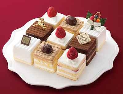 12四角いケーキ詰め合わせ