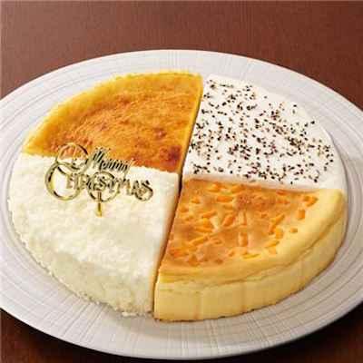 15 4種のチーズケーキセレクション