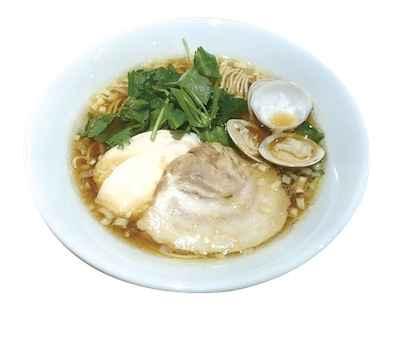 9鶏・蛤・煮干しの三種出汁 トリプルSOBA