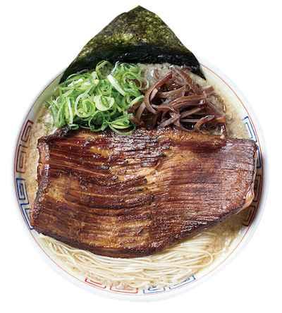 11濃厚博多豚骨炙り豚トロ肉盛りラーメン