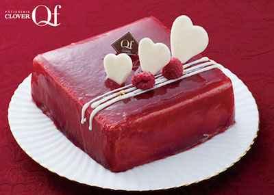 33《宅配商品》ホワイトチョコとベリーのケーキ