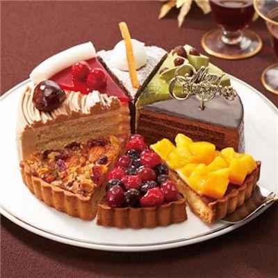 4聖夜の煌き☆8種のアソートケーキ