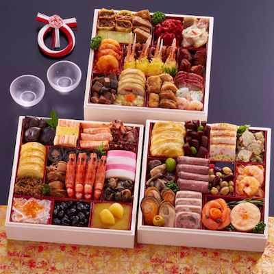 札幌グランドホテル 和洋中三段重「明の宴」