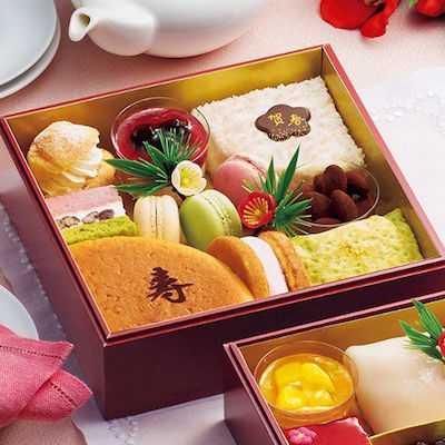 すいーつおせち二段重「華菓」1重