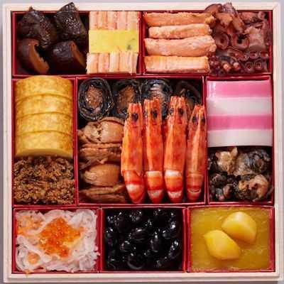札幌グランドホテル 和洋中三段重「明の宴」1重