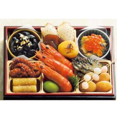 京都 祇園岩本 迎春おせち三段重「京金華」1重