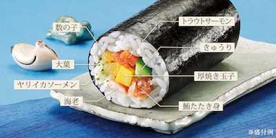 5【新潟・北陸限定】海の幸 恵方巻き