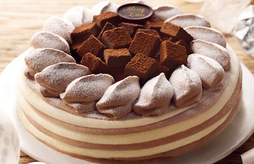 オハヨーくちどけ生チョコのアイスケーキ