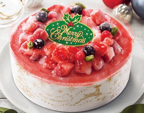 セリア・ロイル苺のクリスマスデレーションアイスケーキ