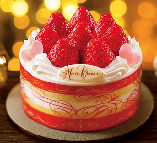 クリスマスウィッシュ 苺&苺パーティーケーキ