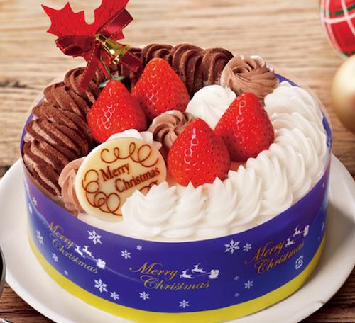 苺ショート&チョコ生ケーキ