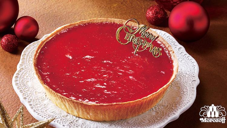 モロゾフ クリスマス  いちごのチーズケーキ